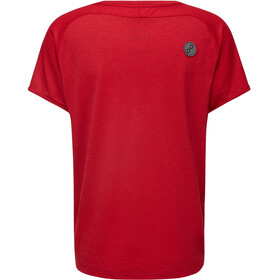 PYUA Skip S - Camisa sin mangas Mujer - rojo